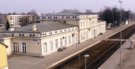 Станция Шауляй