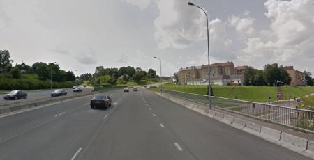 Автодорожный путепровод через улицу Субачаус в Вильнюсе