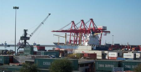 Желенодорожный транспорт порта Латакия