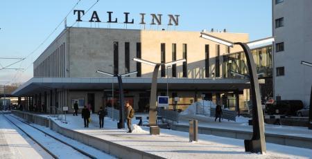 Паровозовагоноремонтный завод в Таллине