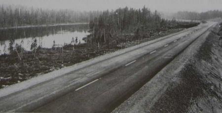 Участок автомагистрали Зашеек — Мурманск