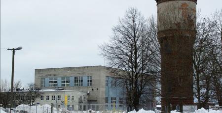 Очистные сооружения производственных сточных вод локомотивного депо на станции Таллин-Копли