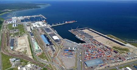 Железнодорожные подходы к морскому порту Мууга