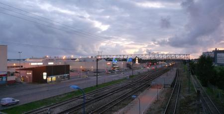 Автодорожный путепровод между IV и V микрорайонами Ласнамяэ Таллина