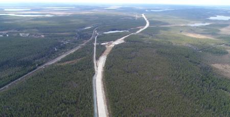 Автодорога Ледмозеро — Костомукша