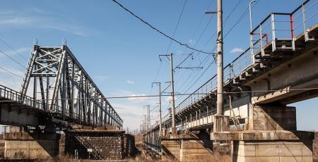 Железнодорожный мост через р. Волхов