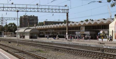 Станция Астрахань