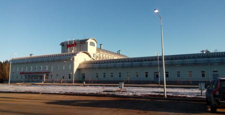 Дом отдыха локомотивных бригад на станции Бабаево