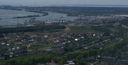 Припортовая нефтебаза в поселке Ижевское