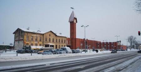 Вокзал на станции Клайпеда