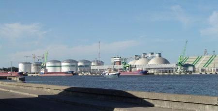 Развитие внешнего транспорта Клайпедской нефтебазы