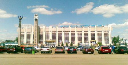 Вокзал на станции Кокчетав