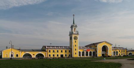Реконструкция железнодорожного вокзала Волховстрой-I