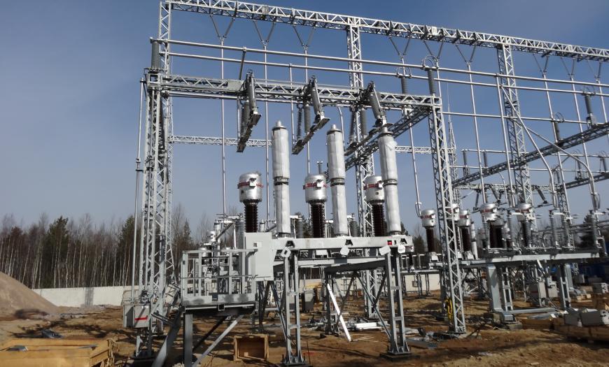 Электрификация подходов к Усть-Лужскому железнодорожному узлу