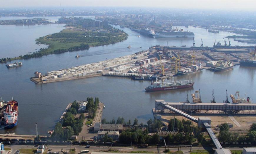 Объекты транспортной инфраструктуры морского порта «Большой порт Санкт-Петербург»