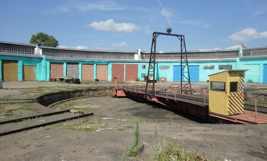 Локомотивное депо на станции Ржев-II