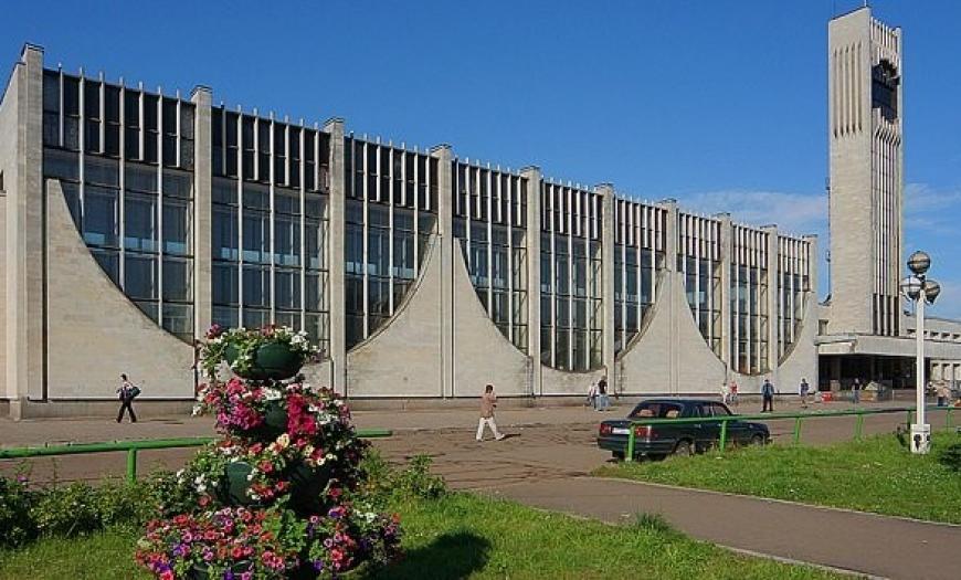 Вокзал на станции Калинин