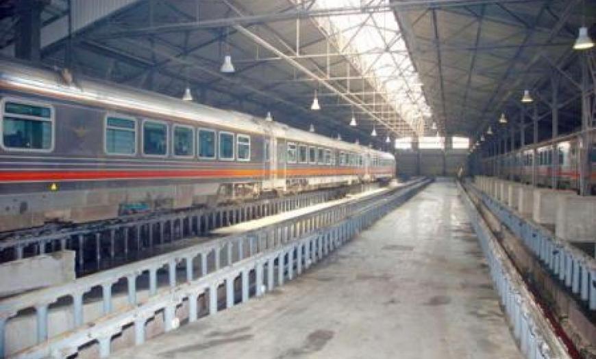 Цех текущего ремонта тепловозов на станции Хомс-II