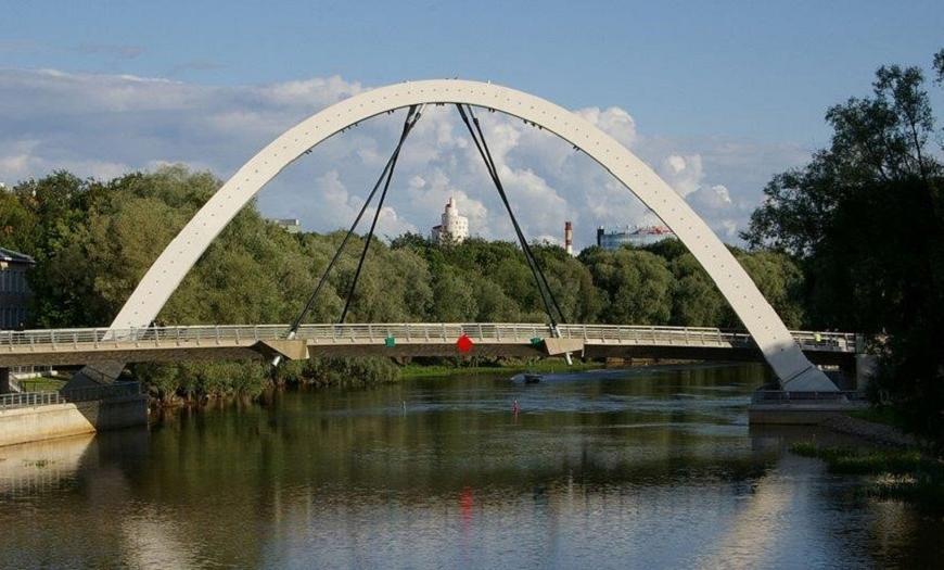 Мостовой автодорожный переход через реку Эмайыги в г. Тарту