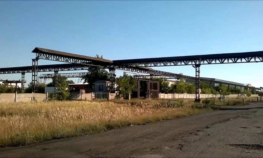 Электрическая централизация на станции Большая Михайловка Целинной железной дороги