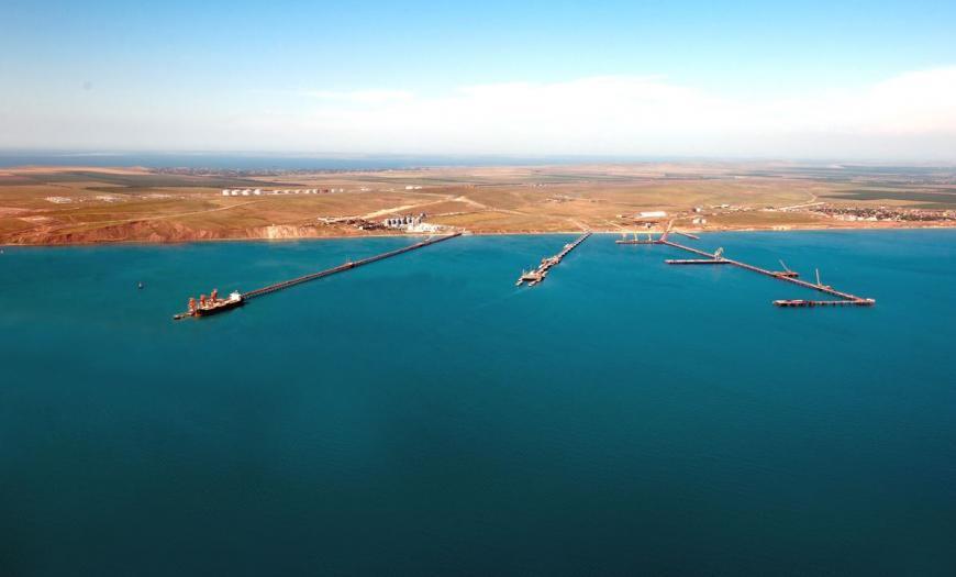 Создание сухогрузного района морского порта Тамань